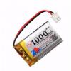中顺芯1000mAh 802540 3.7V聚合物锂电池 852540扫码仪音箱行车仪